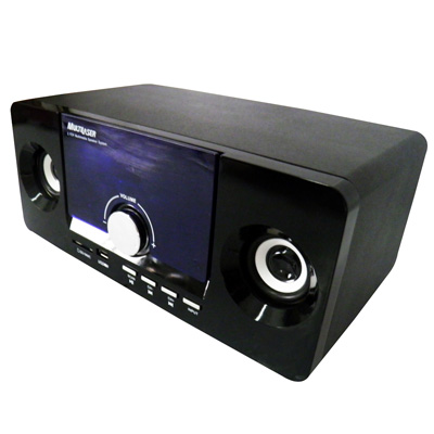 Caixa de Som Home Theater MP3 Subwoofer 2.1 USB Rádio FM (SP117) #L2.2
