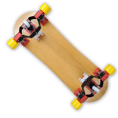 Urban Snowboard Skate Long Ladeira Simulador No Asfalto (65)