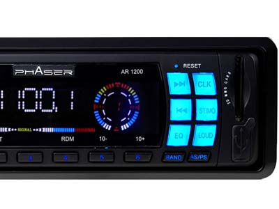 Radio Mp3 Automotivo Usb Sd Fm Carro Som Pendrive Veicular (AR-1200) #B2.4 ok