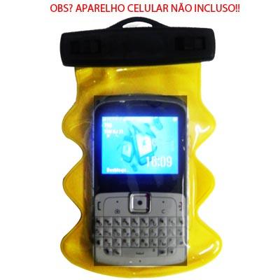 Bolsa estanque celular radio gps agua digital prova mergulho 3 metros (estanque 05) #C