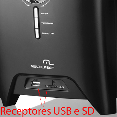 Home Theater 150w SD USB 5.1  FM Subwoofer som dvd controle remoto multilaser (sp123)