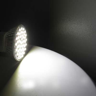 Lampada 48 LEDs SMD 4 w 110V sanca gesso teto boca luz branca 50 60 HZ