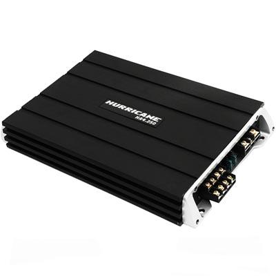 modulo amplificador de potencia 2000w automotivo som audio carro mala hurricane 4 canais  (ha4250)