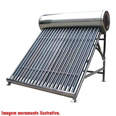 Kit Aquecedor Solar de agua de 180L piscina chuveiro casa torneira aquecida  (18)
