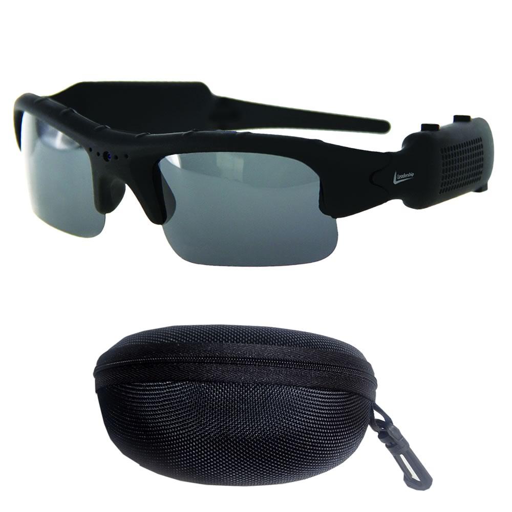 ... Oculos Espiao Camera Espia Video Filmadora Sd Espionagem (5283) - AB  MIDIA ... 3757bbf6f5