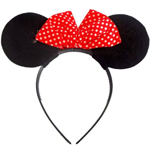 Kit Tiara Minnie 12 Unid Carnaval Festa Fantasia Evento (BSL-2653-14)
