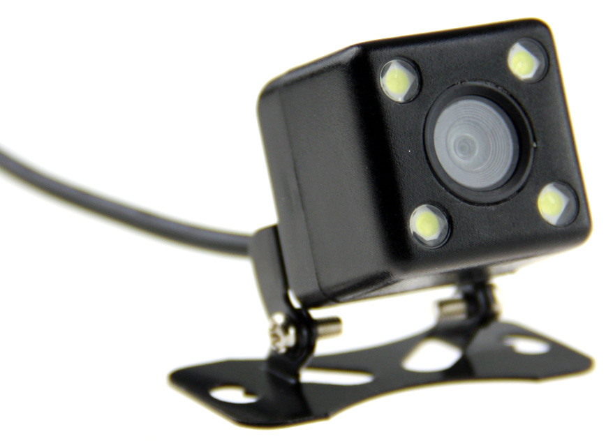 Camera De Re com Led para Carro Caminhao ou Van Veicular (RoHS)