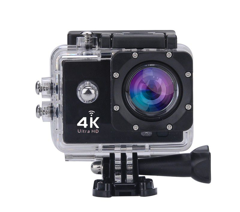 Camera Filmadora Wifi 4k Ultra Hd 16 mp A Prova D agua Acessorios Foto Video