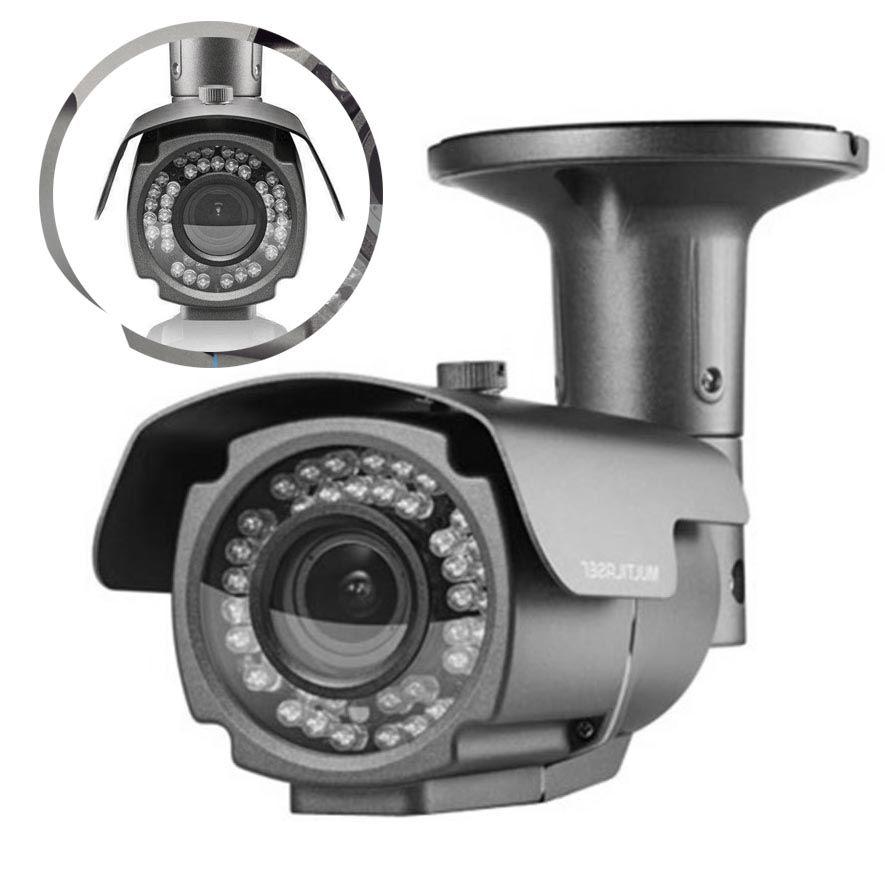 Camera Varifocal AHD Full Hd 72 Leds Sensor 2.7 70 Metros UTC Anti Vandalismo Seguranca (SE172/1802)