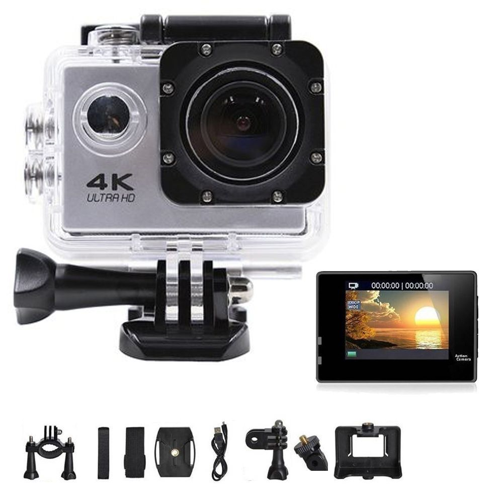Camera Wifi 4k A Prova D agua Filmadora Ultra Hd 16 mp Foto Video Acessorios