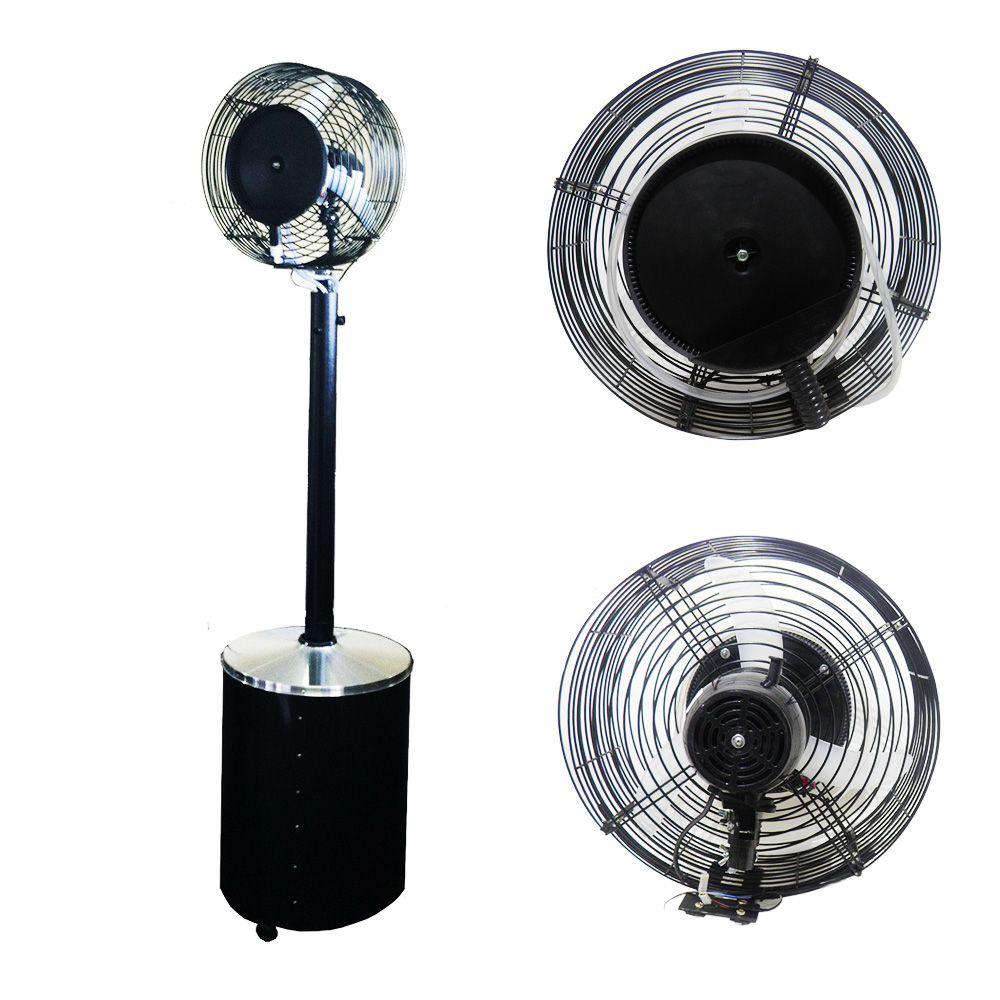 Climatizador de Agua Oscilante Umidificador Pedestal 110v Ou 220v