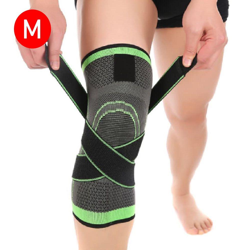 Joelheira Elastica 3D Exercício Joelhos Estabilidade bandagem Compressão Academia Apoio Suporte Articulação Fitness