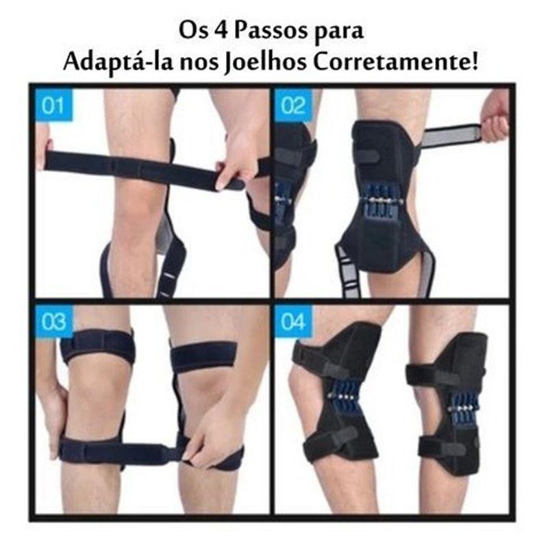Joelhos Force Apoio Suporte Joelheira o par Ajuda Articulação Exercicio