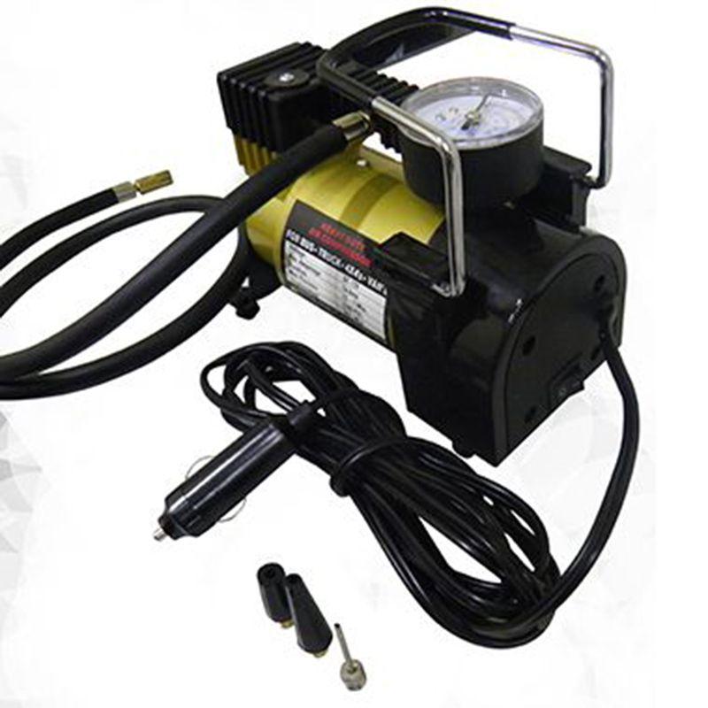 Mini Compressor de Ar Veicular Profissional Portatil 12V Carro