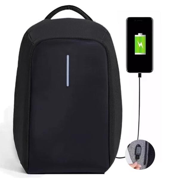 Mochila Usb Anti Roubo Furto Com Notebook Laptop Carregador (BSL-BOLSA-9)