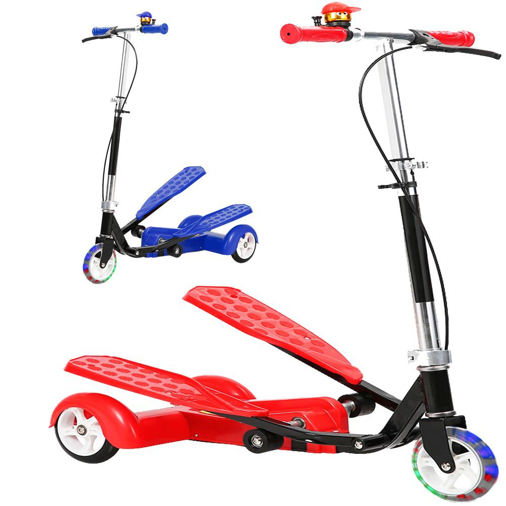 Patinete Tres Rodas Transport Infantil Metal 50kg Regulavel Freio Esporte (DMR5462/DMR5463)