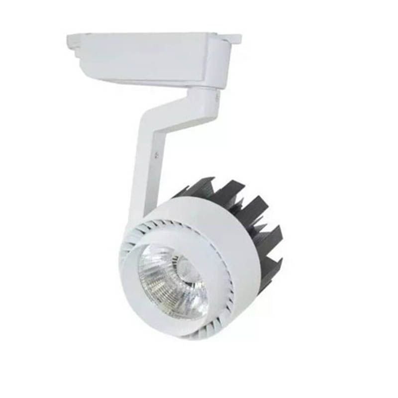 Spot Luminaria Led 30w Para Trilho Eletrificado Bivolt Iluminacao Loja Farmacia Salao (ZEM-31430-A)