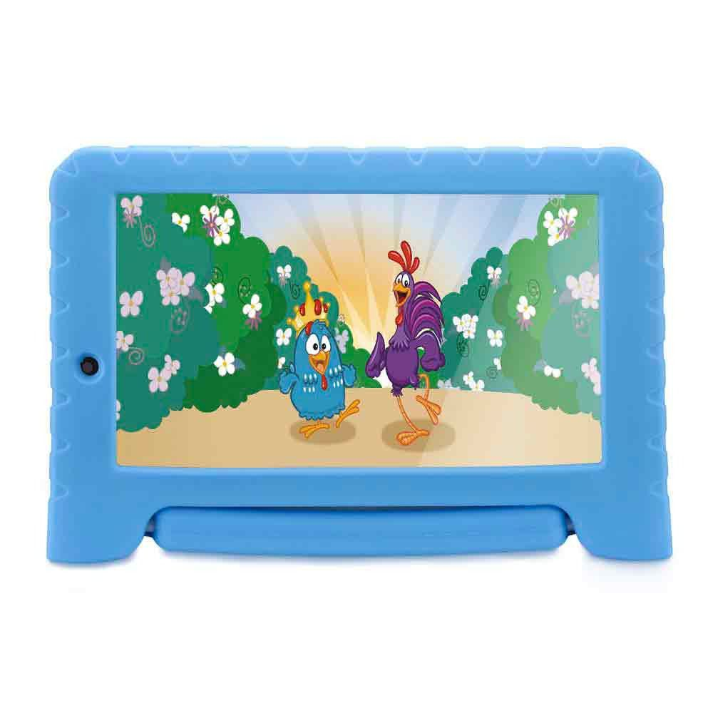 Tablet Infantil 7 Pol Galinha Pintadinha Quad Core 1gb Ram Wifi 8gb Android 7.0 Crianca (NB282)