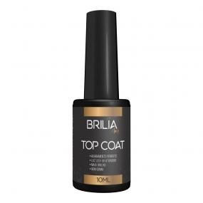 TOP COAT 10ML BRILIA NAILS