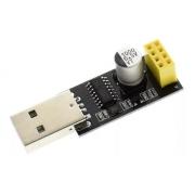 Adaptador Programador Usb Uart para Módulo Wifi Esp8266 ESP-01 ESP01