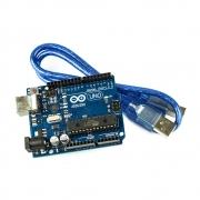 Arduino Uno R3 DIP AtMega328p AtMega328 com Cabo USB