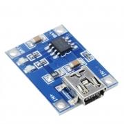 Carregador de Bateria Litio Mini USB Tp4056 Tp-4056 TC4056a
