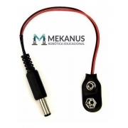 Conector C/ Plug Para Bateria 9v