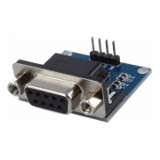Conversor Rs232 para Ttl Max3232 Serial com Db9 Femea