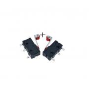 Interruptor Micro Switch Chave de Fim de Curso Alavanca Endsotp KW12-3 (2 unidades)