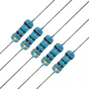 Resistor 100 Ohm 1/4w 1% (Kit com 10 unidades)