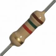 Resistor 1.5k Ohm 5% 1/4w 0,25w (Kit com 10 unidades)