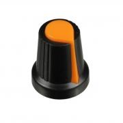Knobs para Potenciômetro Eixo Estriado Botão Liga Volume Ton