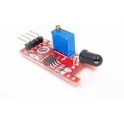 Sensor Detector de Fogo Chama Ky-026