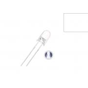 LED Alto Brilho Branco de 5MM (Kit com 5 unidades)