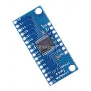 Multiplexador Analógico/digital 16 Canais Cd74hc4067 S/barra