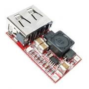 Regulador Tensão Conversor Step Down Dc Dc In 6~24v Out 5v Usb