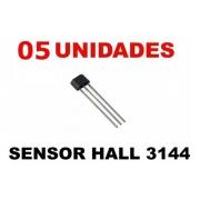 Sensor De Efeito Hall A3144 A3144e (Kit com 5 unidades)