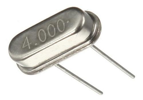 Cristal Crystal Oscilador de 4mhz (Kit com 5 unidades)