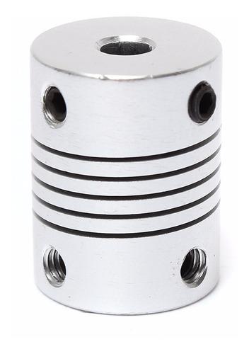 Acoplamento Flexível 5mm X 5mm para CNC Router Impressora 3d