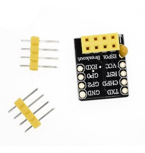 Adaptador Esp-01 ESP01 para Protoboard Esp8266 Wi Fi