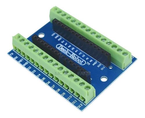 Adaptador Shield Expansão com Borne Kre para Arduino Nano V3.0
