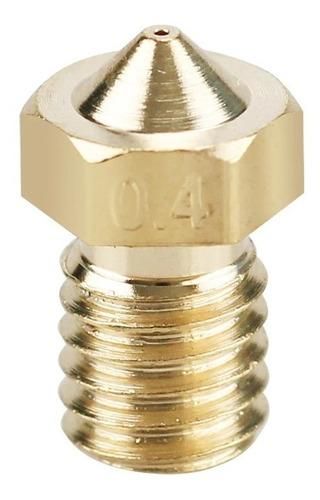 Bico Nozzle de 0,4mm para Filamento de 1,75mm