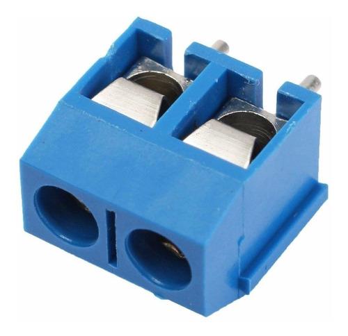 Mini  Borne Conector Kre 2 Vias Kf301-2t 5,08mm Kf301-2p