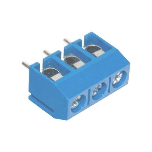 Mini Borne Conector Kre 3 Vias Kf301-3t 5,08mm Kf301-3p