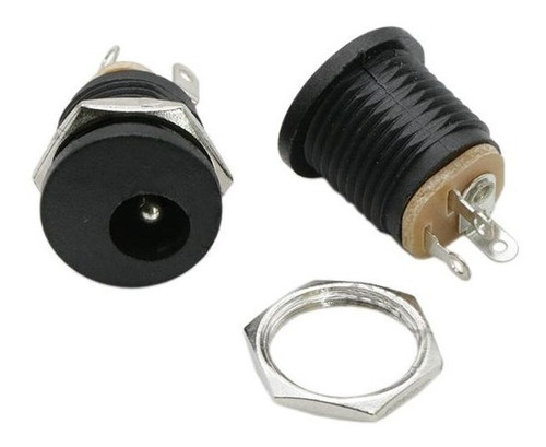 Conector Plug Jack Tipo P4 DC Femea Dc-022 2,1x5,5mm