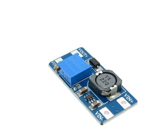 Regulador de Tensão Conversor DC-DC Step-up MT3608