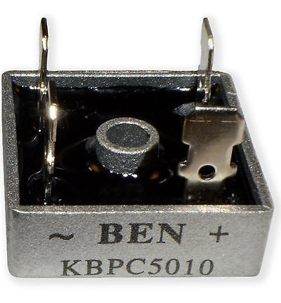 Diodo Ponte Retificadora Kbpc-5010 Kbpc5010 5010 50a/1000v