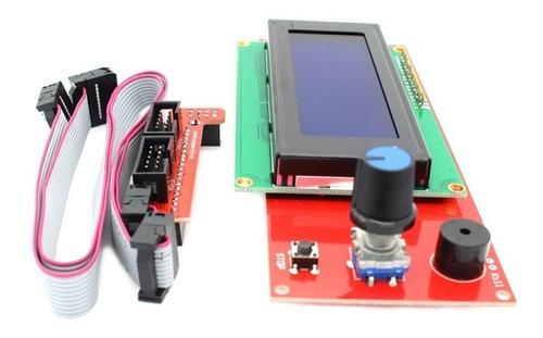 Display Lcd 2004 20x04 Impressora 3d Ramps Reprap Graber Anet