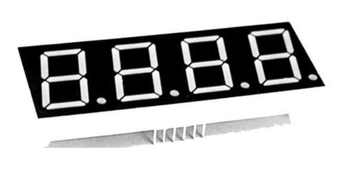 Display Led 0.36 4 Dígitos 7 Segmentos Vermelho Catodo Comum