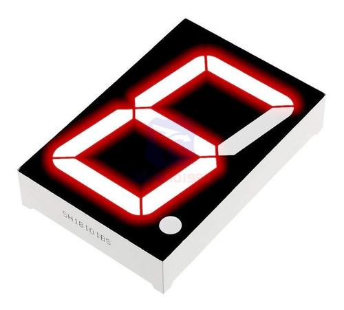 Display Led 7 Segmentos Vermelho 1 Digito 0.56 catodo comum